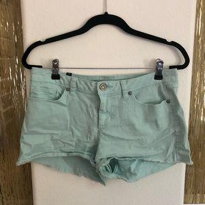 Lauren Conrad Turquoise Shorts